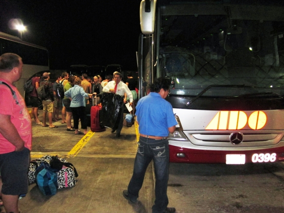 ADO Bus from Cancun Terminal direct to Belize City