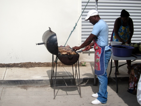 Belize BBQ Compeition
